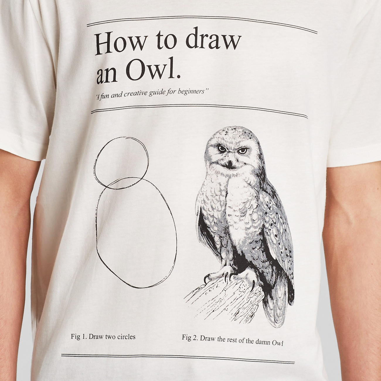 T-shirt Stockholm How to Draw an Owl
