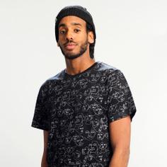 T-shirt Stockholm Faces Black