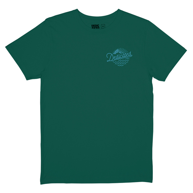 T-shirt Stockholm Outdoor Vibes Evergreen
