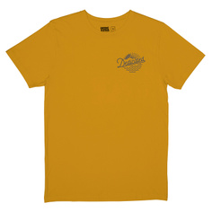 T-shirt Stockholm Outdoor Vibes Mustard
