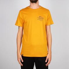 T-shirt Stockholm Outdoor Vibes Mustard