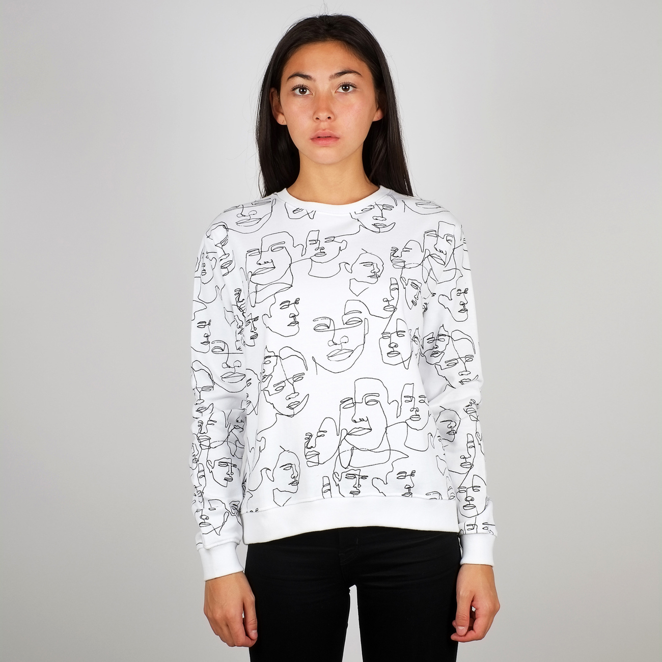 Sweatshirt Ystad Faces