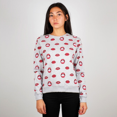 Sweatshirt Ystad Lips Pattern