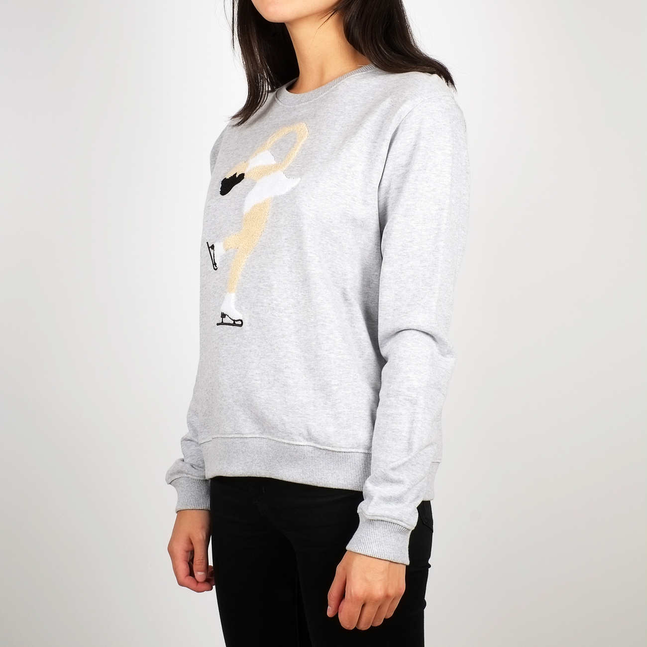 Sweatshirt Ystad Skating Queen Chenille
