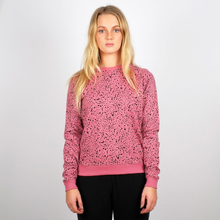 Sweatshirt Ystad Dots Heather Rose