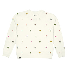 Sweatshirt Ystad Mushrooms Embroidery