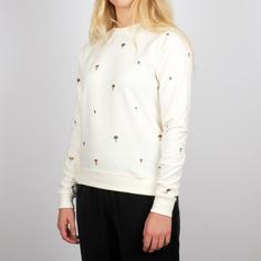 Sweatshirt Ystad Mushrooms Embroidery