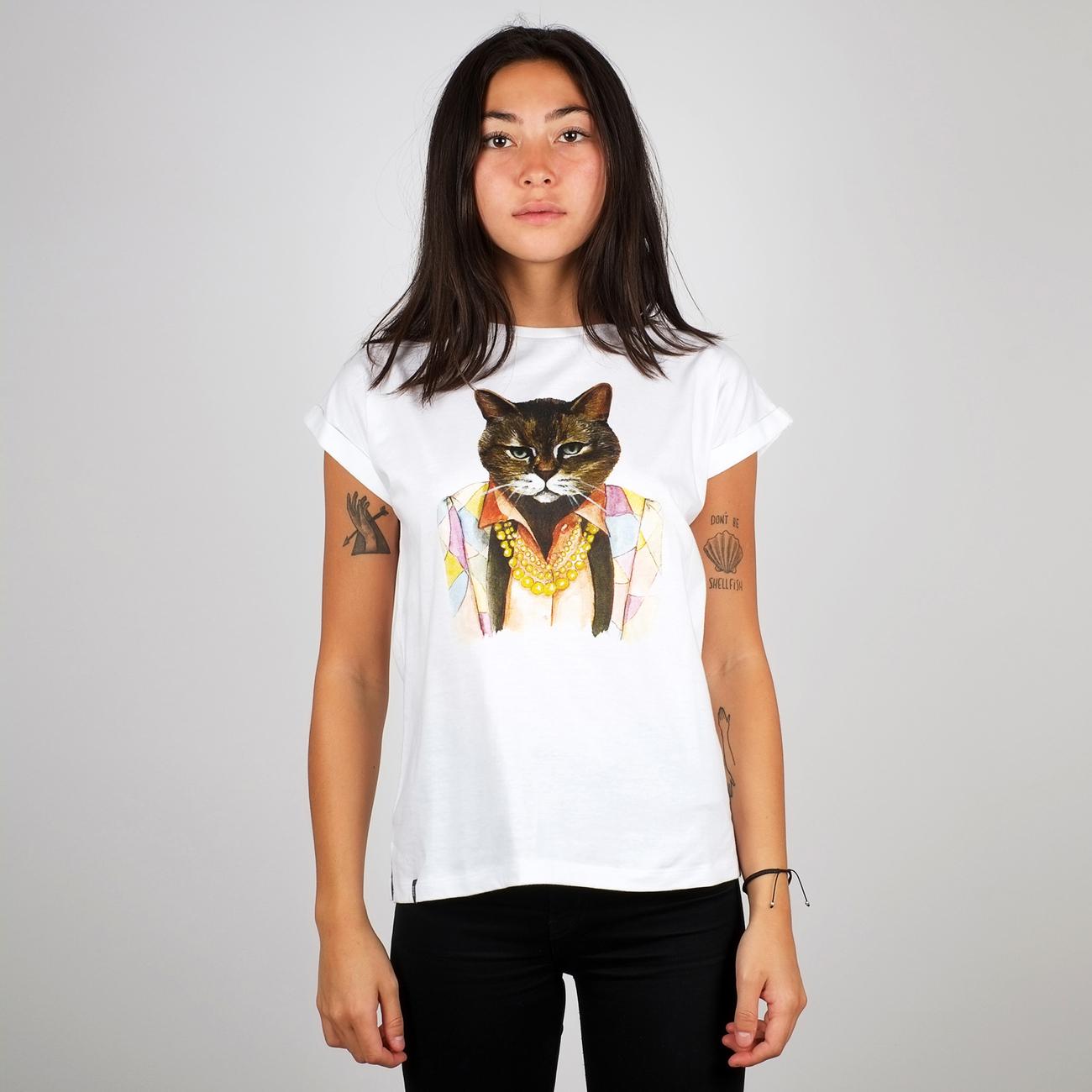 T-shirt Visby Bling Cat