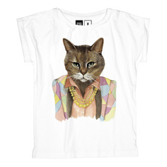 T-shirt Visby Bling Cat