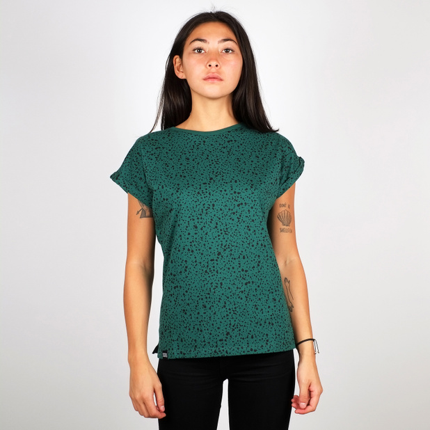 T-shirt Visby Dots Evergreen