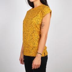 T-shirt Visby Dots Mustard