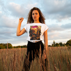T-shirt Visby Pink Revolution