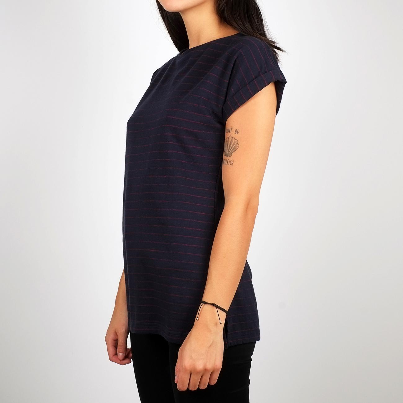 T-shirt Visby Jacquard Stripes