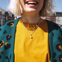 T-shirt Visby Mustard