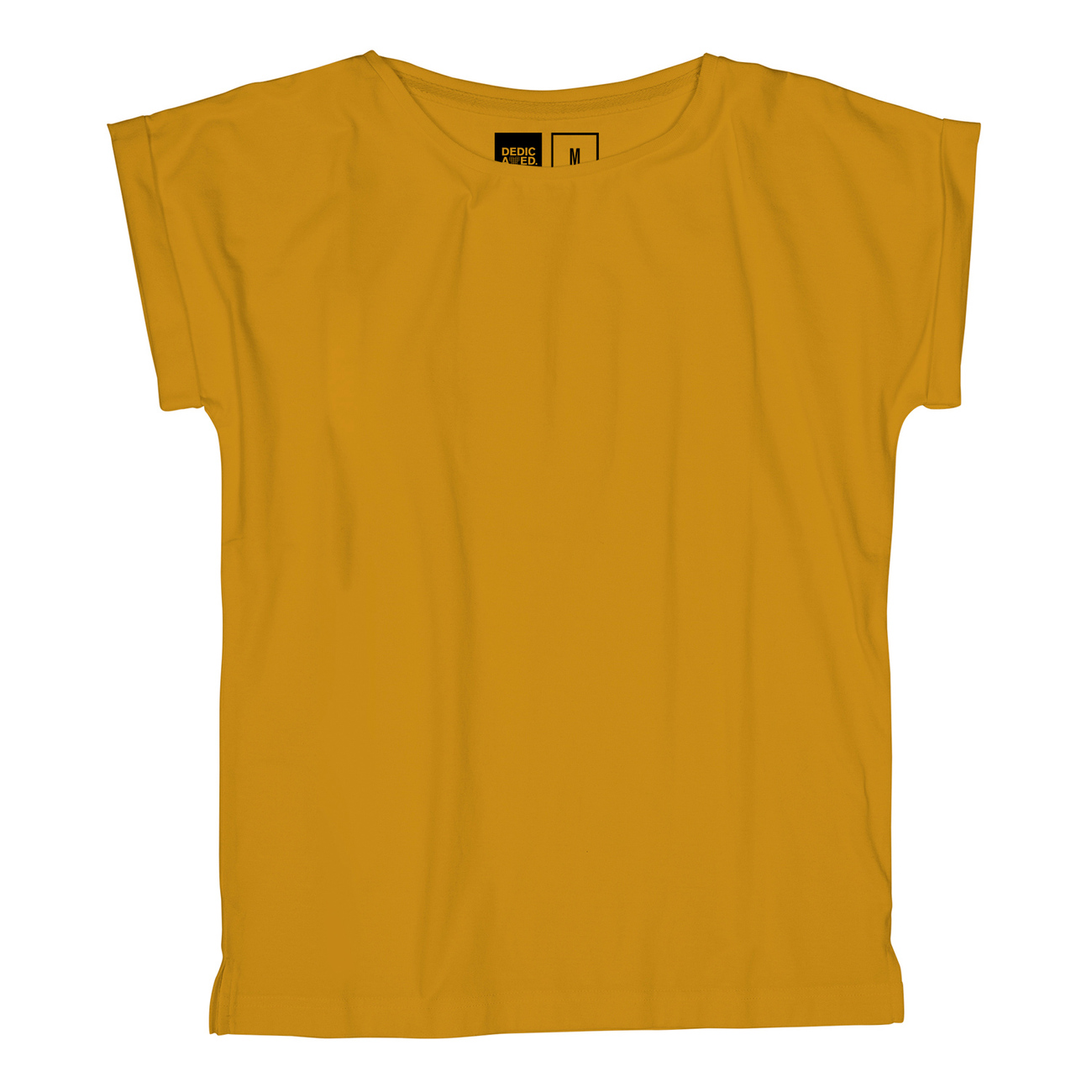 T-shirt Visby Base Mustard