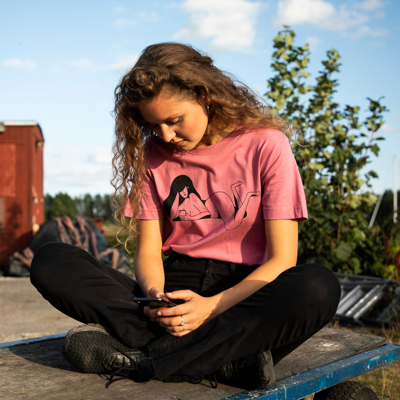 T-shirt Mysen Phoning