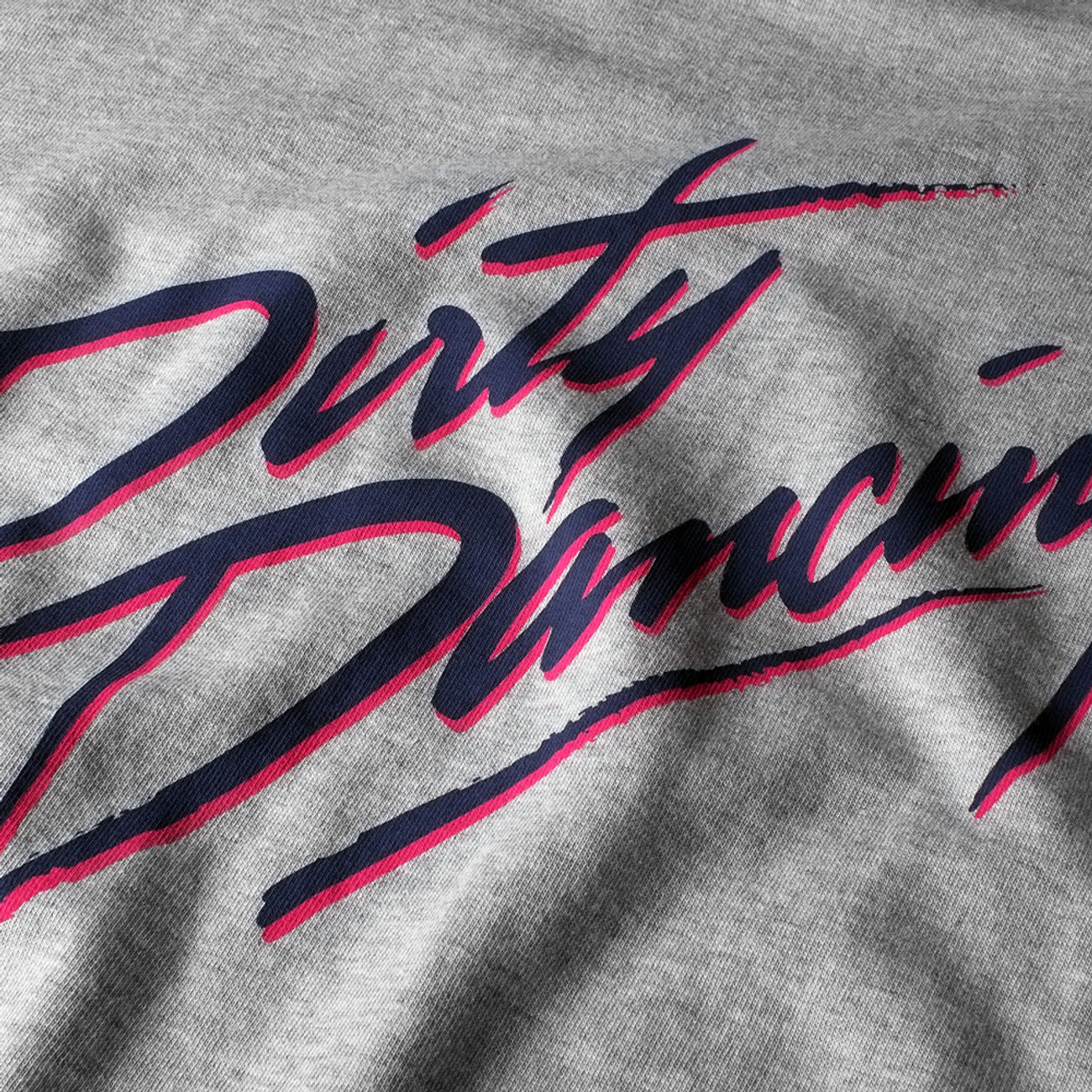 T-shirt Visby Dirty Dancing Logo Grey Melange
