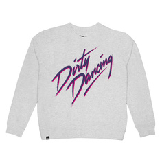 Sweatshirt Ystad Dirty Dancing Logo Grey Melange
