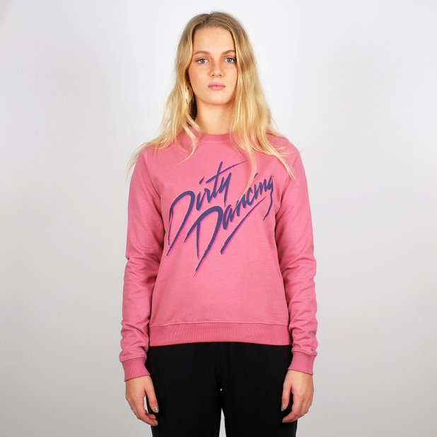 Sweatshirt Ystad Dirty Dancing Logo Heather Rose