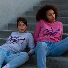 Sweatshirt Ystad Dirty Dancing Logo Heather Rose