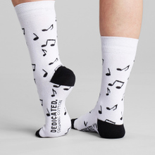 Socks Sigtuna Notes White