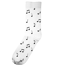 Socks Sigtuna Notes White