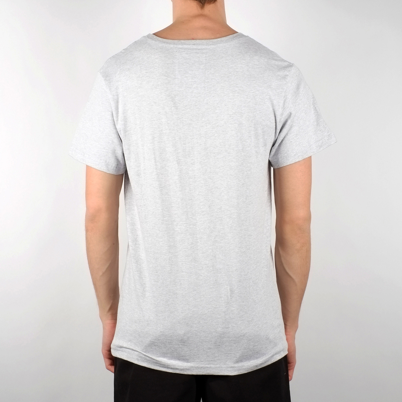 T-shirt Stockholm Bike Repeat White Melange