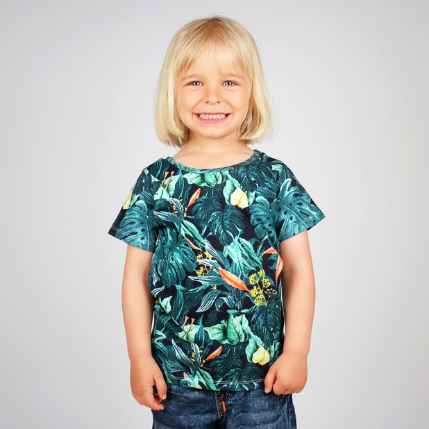 T-shirt Baby Jungle