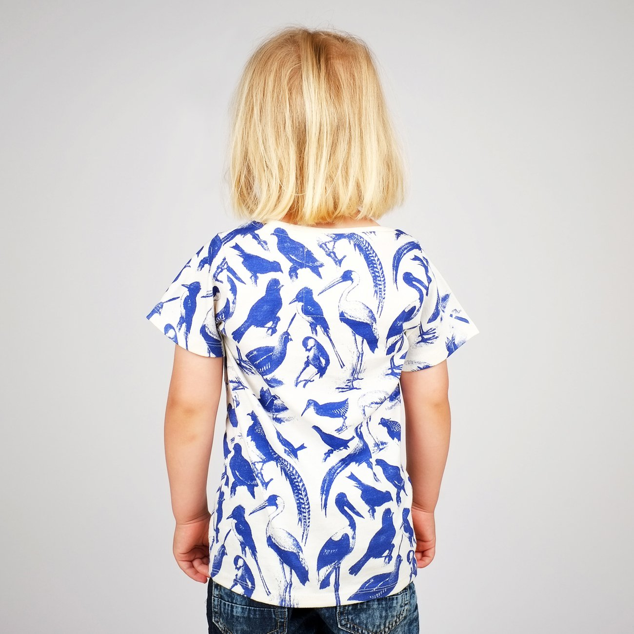 T-shirt Baby Blue Birds