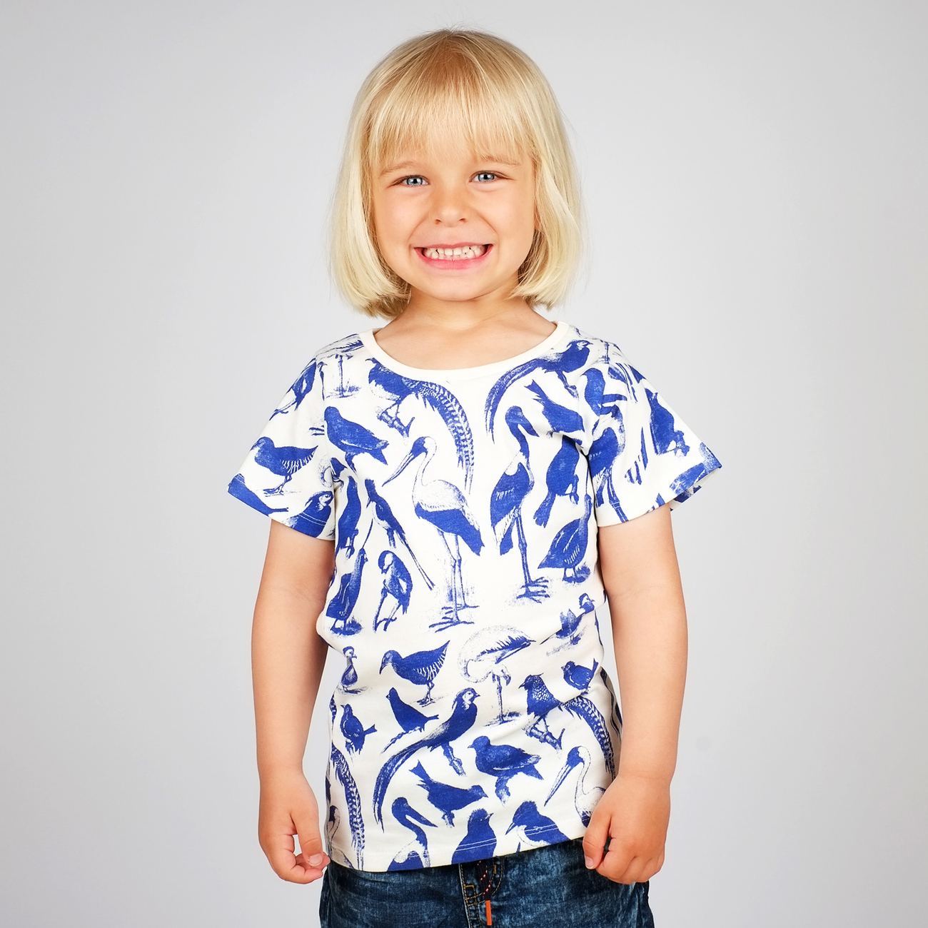 T-shirt Lillehammer Blue Birds