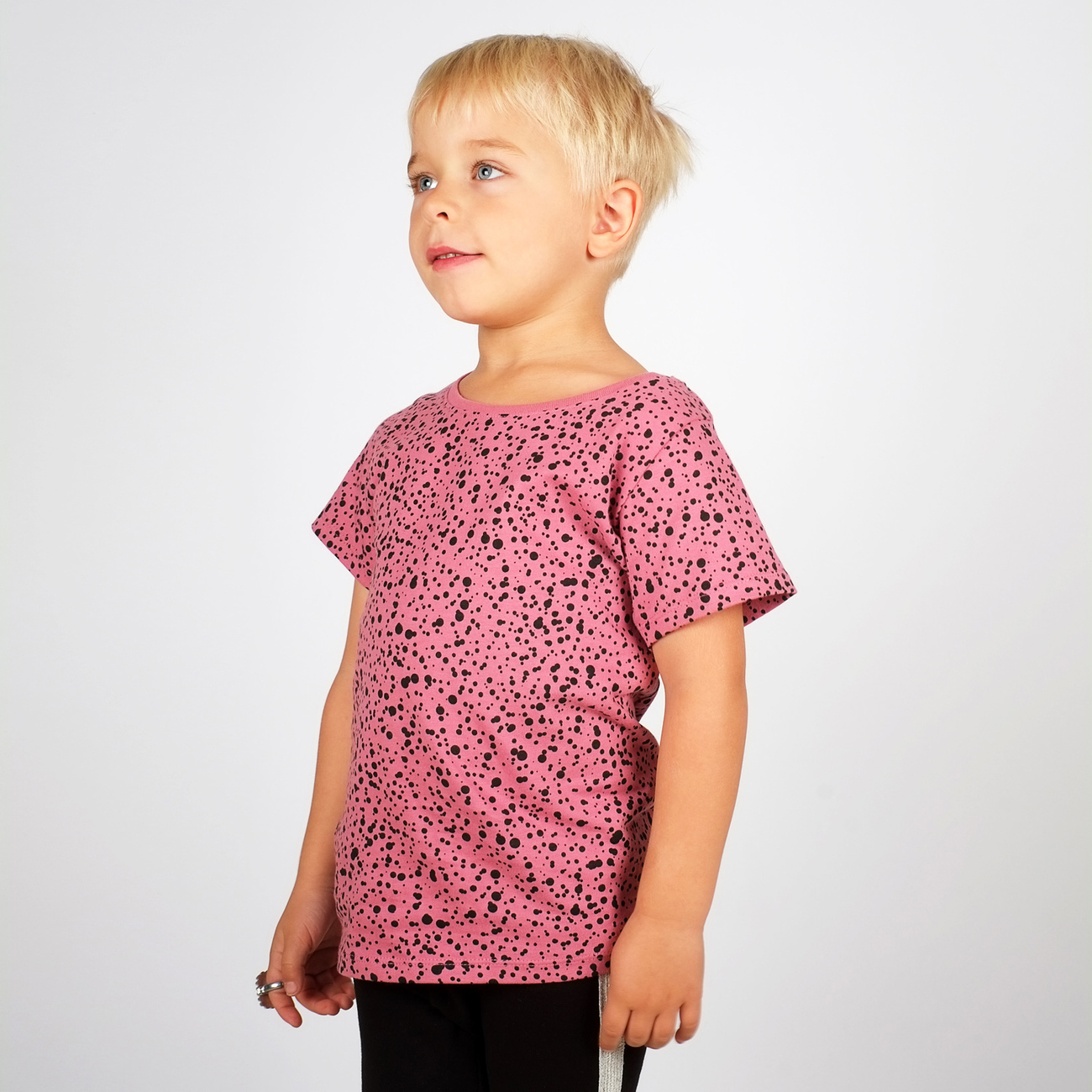 T-shirt Lillehammer Dots Heather Rose