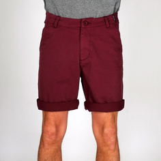 Chino Shorts Nacka Burgundy