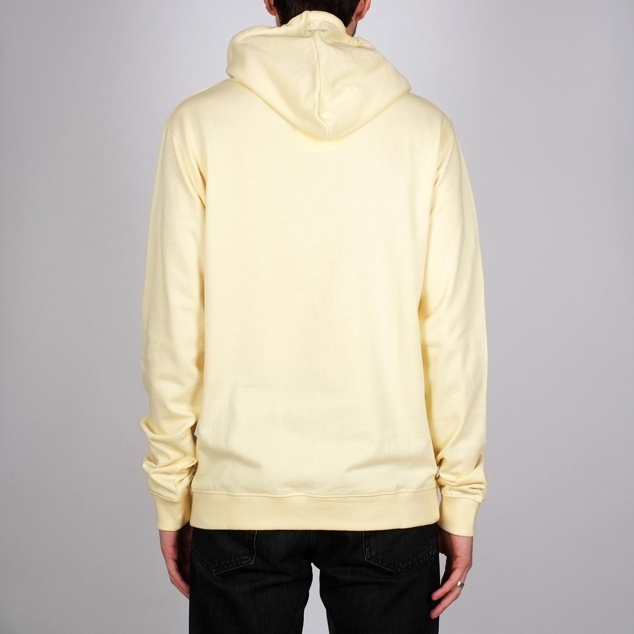 Hoodie Falun Dedicated Script Pale Yellow