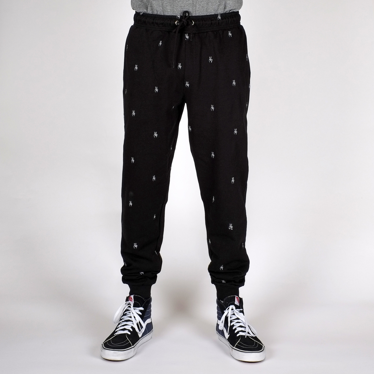 Joggers Lund Peace hands