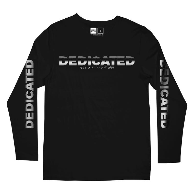 dc63a913914d Long Sleeve T-shirt Hasle Fade Logo Black ...