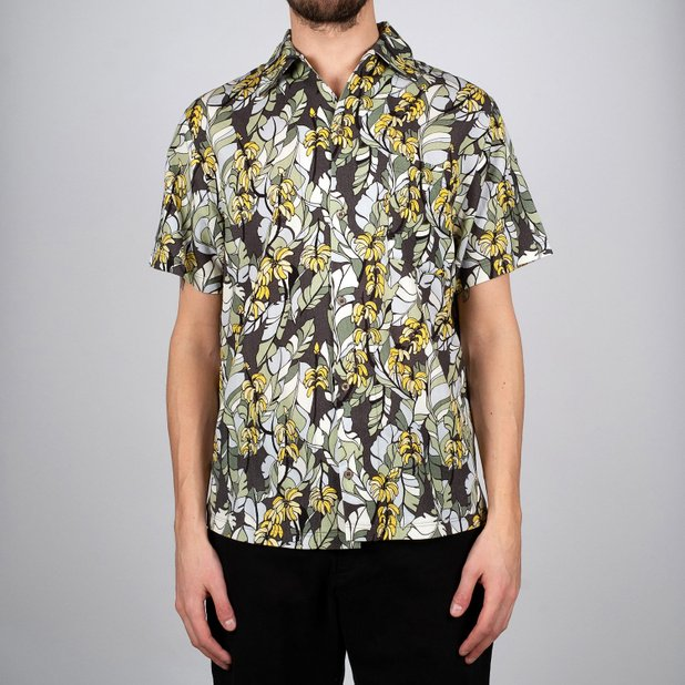 Shirt Short Sleeve Marstrand Banana Leaves
