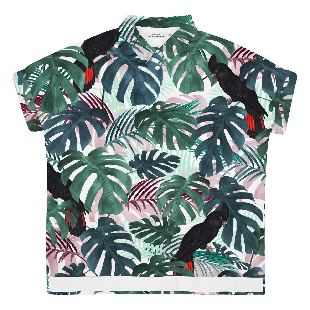 Skjorta Short Sleeve Nibe Color leaves