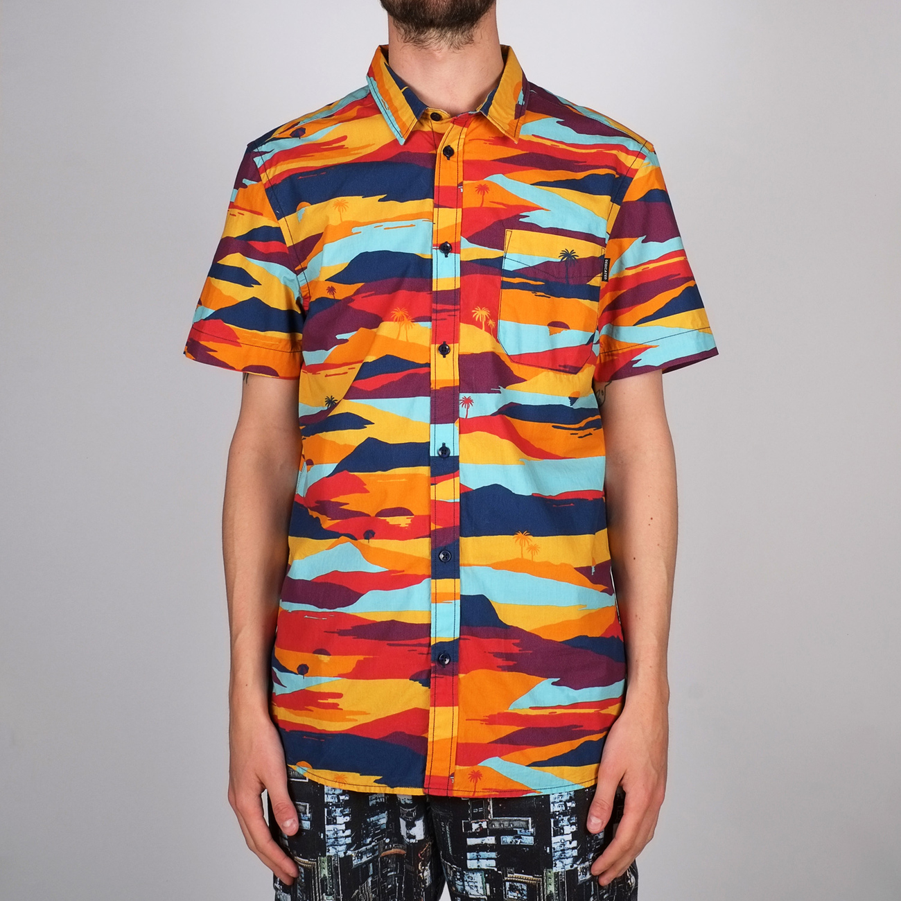 Shirt Short Sleeve Sandefjord Sunset