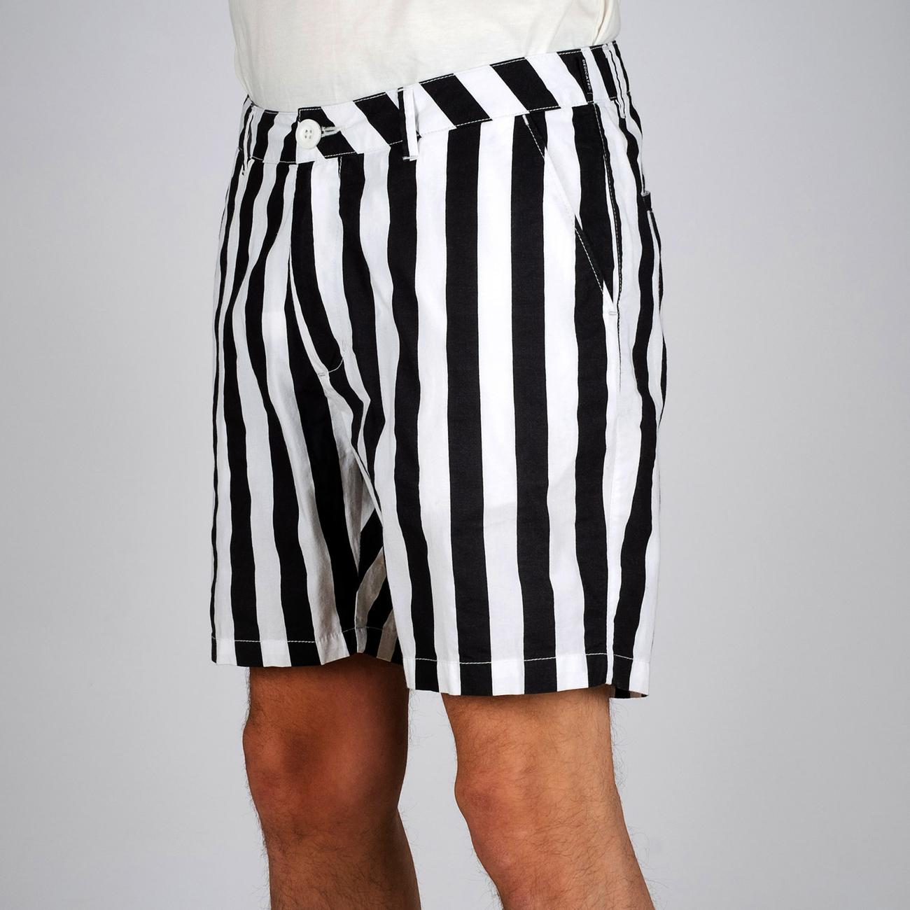 Shorts Laholm Big Stripes