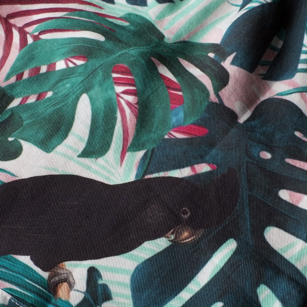 Shorts Sandvika Color Leaves