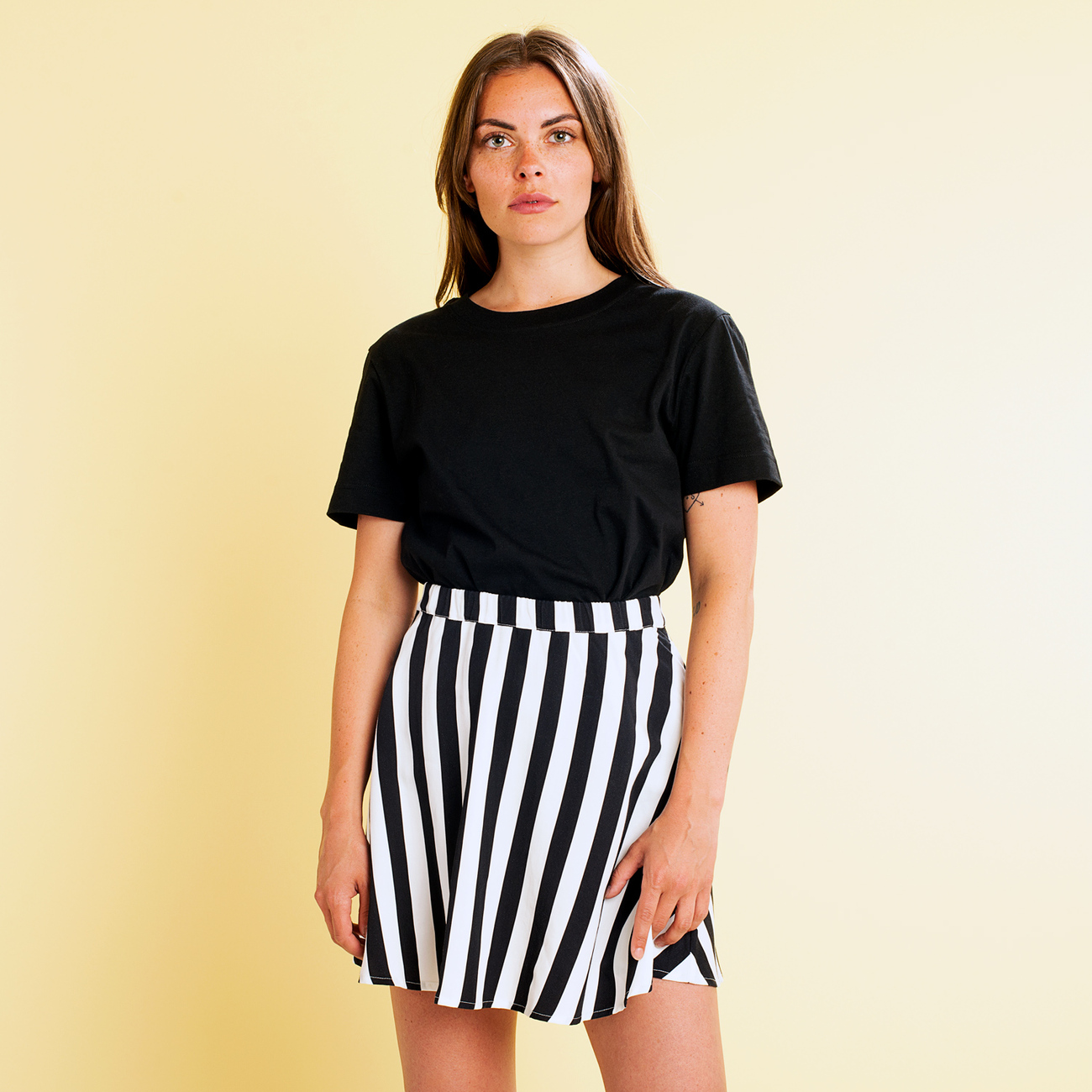 Skirt Arvika Big Stripes