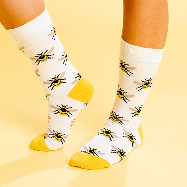 Socks Sigtuna Bumblebees