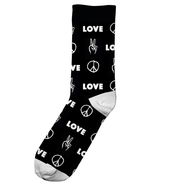 Socks Sigtuna Peace And Love