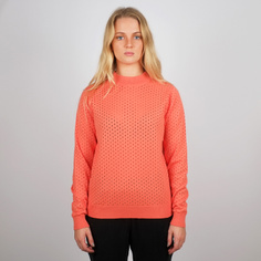 Stickad tröja Viborg Mesh Coral Fusion