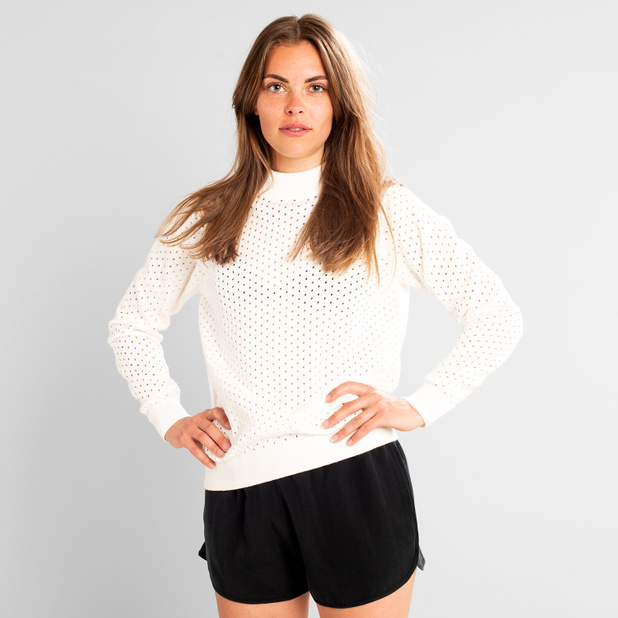 Sweater Viborg Mesh Off-White