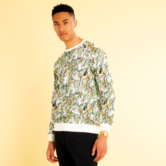 Sweatshirt Malmoe Banana Leaves