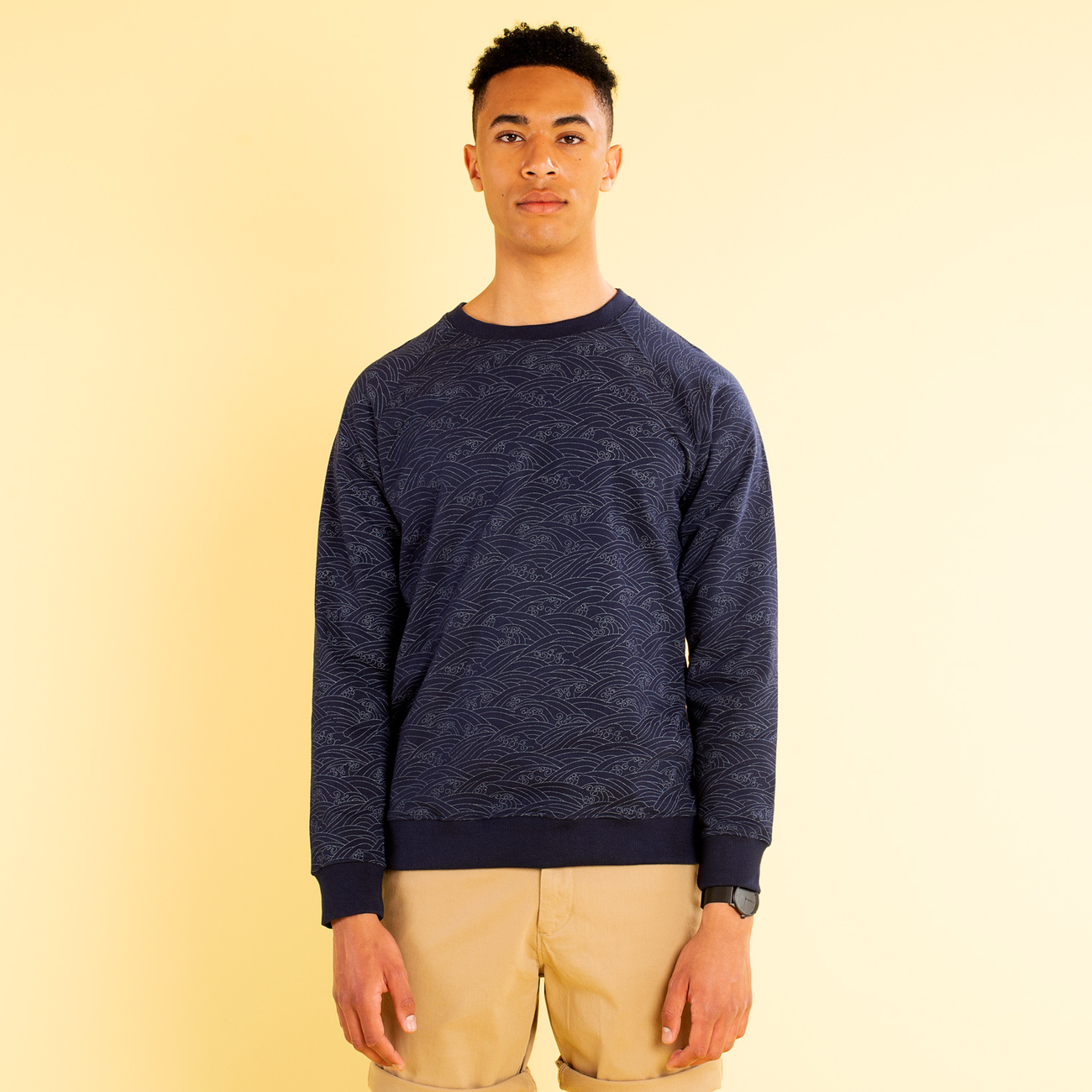 Sweatshirt Malmoe Japanese Waves