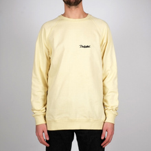 Sweatshirt Malmoe Dedicated Script Pale Yellow