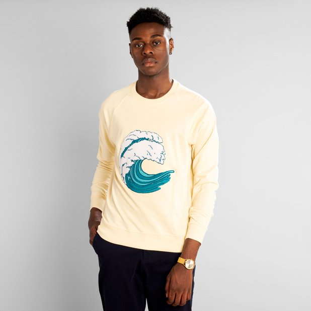 Sweatshirt Malmoe Wave