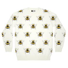 Stickad tröja Mora Bumblebees